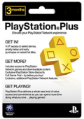 PlayStation Plus 3 month Prepaid Card (German)