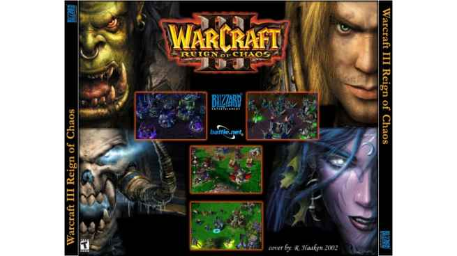 Warcraft 3: Reign of Chaos Blizzard cdkey