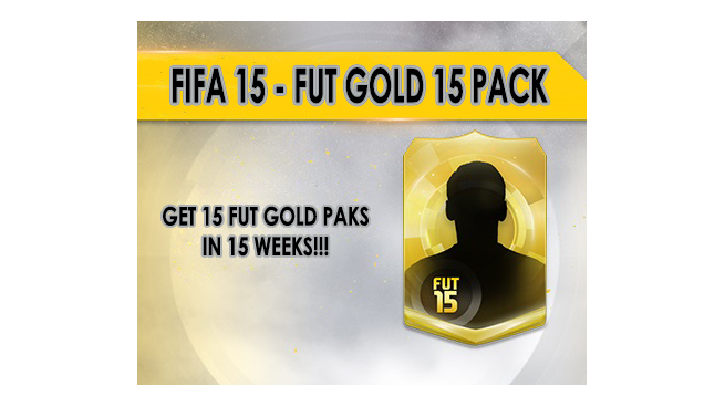 FIFA 15 - 15 FUT GOLD PACK Origin cdkey